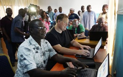 New communication center aids learning in Nigeria