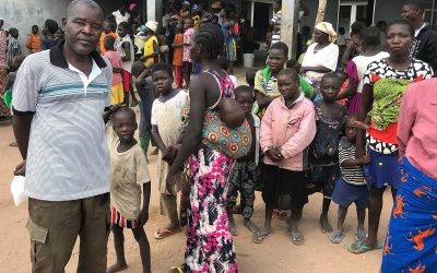 Church provides aid to Nigerians displaced by violence