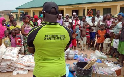 United Methodists respond to displaced in Nigeria